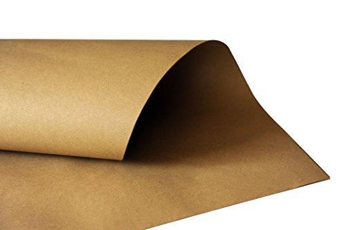 Carte Dozio - Carta da pacco avana Millerighe da 80 gr/mq in fogli F.to cm 100x150 - piegati in 3 - pacchi da 12,5 kg (100 FG ca.)