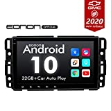 2020 Newest Car Stereo Double Din Car Stereo, Android 10 Radio Eonon Car Stereo for Chevy/Chevrolet Silverado 8 Inch Car Radio Support Split Screen, Android Auto Built-in Apple Carplay/DSP -GA9480A