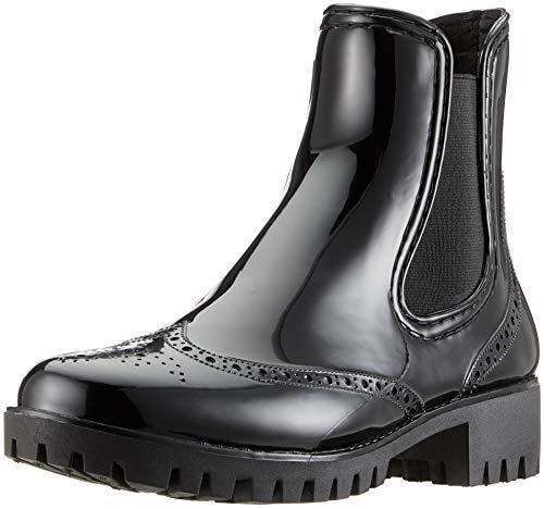 Buffalo Damen PTH Gummistiefel, Schwarz (Black 01 001), 39 EU