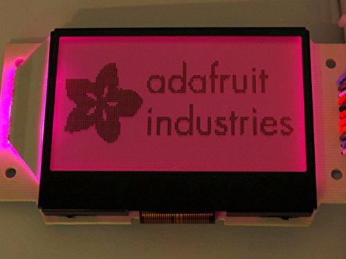 Adafruit LCD-Grafikanzeige ST7565 - positiv, 128x64, RGB-Backlight und inkl. Extras