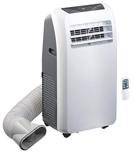 Sichler Haushaltsgeräte Mobile Klimageräte: Mobile Monoblock-Klimaanlage mit Entfeuchter, 7.000 BTU/h, 2.050 Watt (Klimagerät Monoblock)
