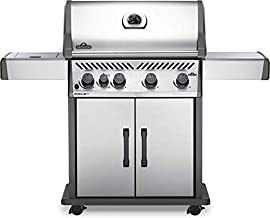 Napoleon RXT525SIBPSS-1 Rogue XT 525 SIB Gas Grill, sq. in + Infrared Side Burner, Stainless Steel