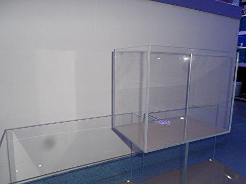 Weißglas Aquarium 60 cm x 30 cm x 36 cm