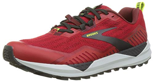 Brooks Cascadia 15, Zapatillas para Correr para Hombre, Samba Red/Brick/Black, 44.5 EU