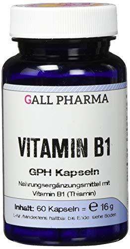 Gall Pharma Vitamin B1 GPH Kapseln, 60 Kapseln