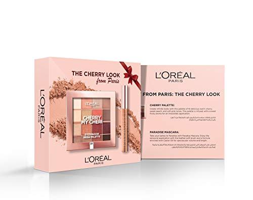 L'Oréal Paris L'Oreal Paris Cherry Palette and Paradise Mascara Kit