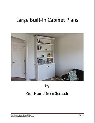 Large Built-In Cabinet Plans