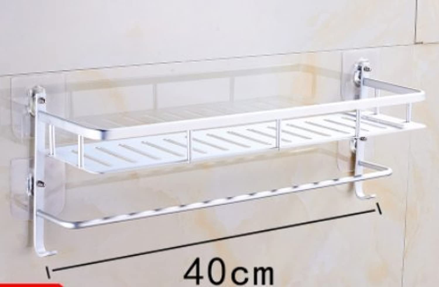 SHAN-Punch-free suction wall wc ,a40cm racks