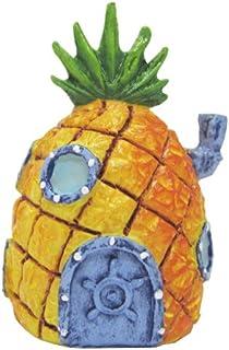 Penn Plax Spongebob Squarepants Mini Pineapple House Aquatic Ornaments