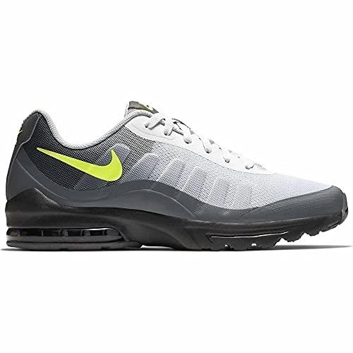 Nike Air MAX Invigor, Zapatillas de Atletismo Hombre, Multicolor (Black/Volt/Dark Grey/Cool Grey 000), 43 EU