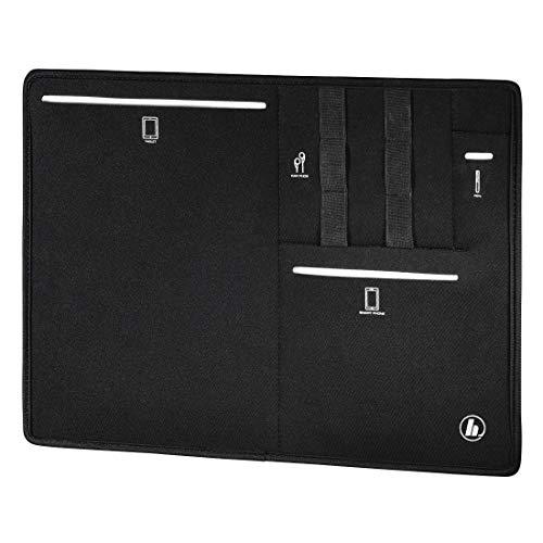 Organizer für Tasche. ord. Port. Saft. 34 cm, Comp. Tablet, Schwarz