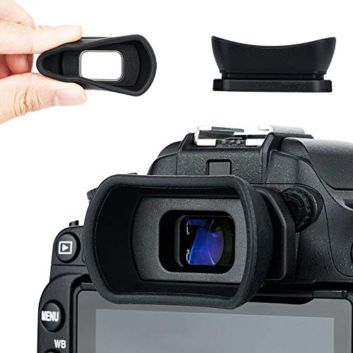 Kiwifotos Augenmuschel Okular für Nikon D7500 D3500 D750 D7200 D7100 D7000 D5200 D5100 D3400 D3300 D3200 D3100 D610 D600 Ersatz Nikon DK-20 DK-21 DK-23 DK-24 DK-25 DK-28 Eyepeice Cup