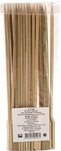 JADE TEMPLE 17199 Bambus-Cocktail-Spieß, Bambus,braun 18 x 2 x 7 cm
