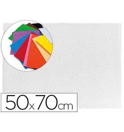 Liderpapel - Goma eva 50x70cm 60g/m2 espesor 2mm textura toalla blanco (10 unidades)