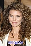 AnnaLynne McCord Blank Lined Notebook for Fans, Make it a Pretty Gift Idea (6? x 9?)100 Page Ver #628