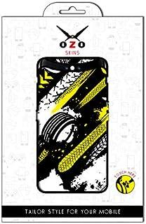 لاصقة حماية من اوزو شكل عجلات السباق لموبايل سامسونج جالاكسي J7 ماكس
