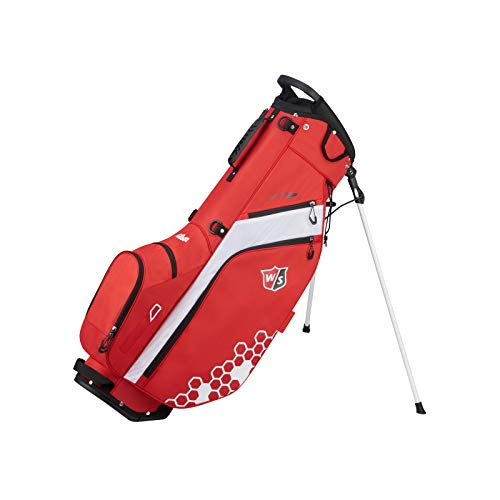 Wilson Sporting Goods Feather Carry Golf Bag, Red