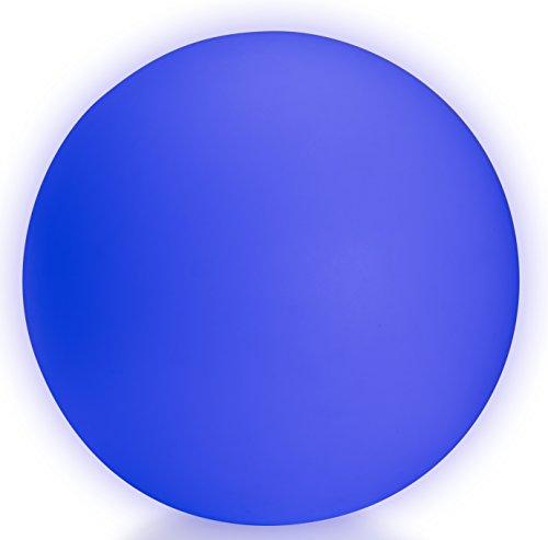 LED Boule Sphère lumineuse Ø 50 cm multicolore RGB 16 couleurs sans câble avec accumulateur et télécommande Etanche et flottant IP65 Extérieur Guirlande lampe mood ball decoration Luminaire Design