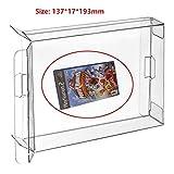 Childhood PS 2プレイステーション2ゲームキューブXbox Wii Xbox 360ゲームカートリッジボックス用10個クリア保護ボックスケースディスプレイスリーブプロテクター