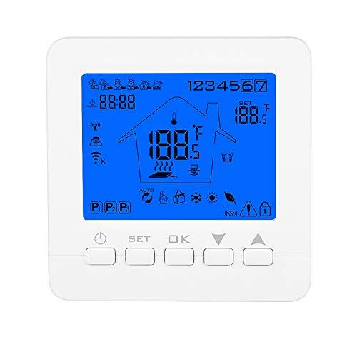 termostato wifi ewelink Konesky Konesky Termostato programmabile Wifi intelligente Termostato APP Controllore TUYA per riscaldamento a gas con scaldabagno elettrico elettrico Lavorare con Alexa Google Home