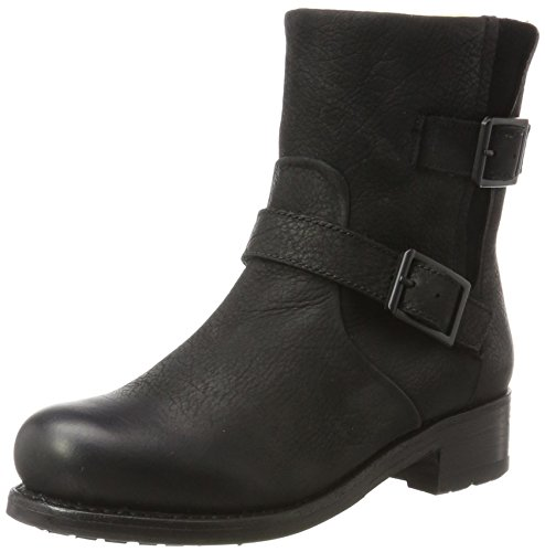 Blackstone Damen OL46 Biker Boots, Schwarz (Black), 40 EU