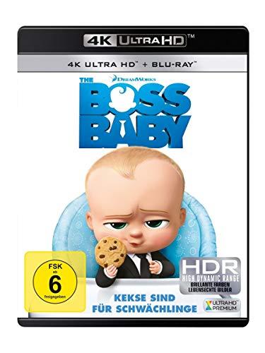 The Boss Baby (4K Ultra HD + Blu-ray 2D)