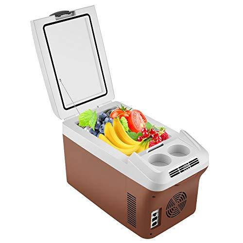 Mini Car Kühlschrank, 8L Mini-Körper Startseite Tragbarer Kühlschrank für RV Boot Yacht Bus, Schlafzimmer Gefrierschrank Mini Bar Par Session
