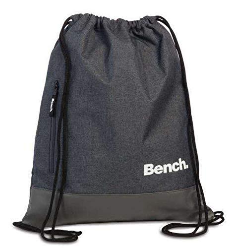 Bench Rücksacke Drawstring Backpack 37 x 45 cm. Dunkelgrau 64154-1700