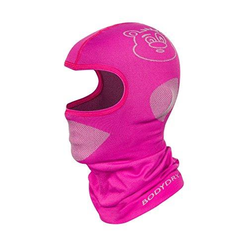 Bodydry Kinder und Damen Sturmhaube Skihaube Balaclava Skimaske viele Farben - Rosa, S