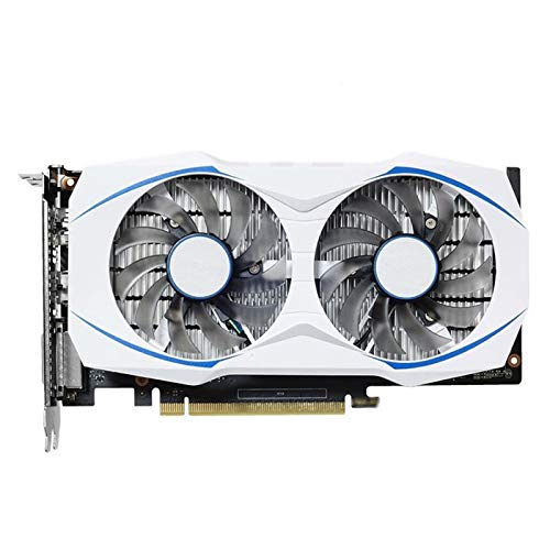 SIJI Ventilador de gráficos Tarjetas De Gráficos PC Tarjeta Video Fit For ASUS GTX 1050 TI 4GB 128BIT GDDR5 Tarjetas Gráficas Fit For NVIDIA VGA Tarjetas GeForce 950 960 750 Gráficos del Juego