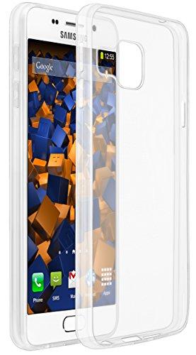 mumbi Hülle kompatibel mit Samsung Galaxy A3 2016 Handy Case Handyhülle dünn, transparent