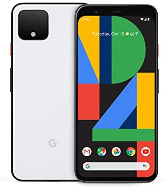 Google Pixel 4 Clearly White 128GB Unlocked product image