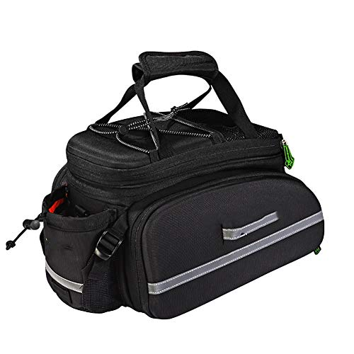 Learn More About HLR Bike Panniers Rack Trunks Bicycle Rear Seat Duffel Bag, 17L Bicycle Rack Bag, S...