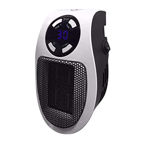 Bellaluee Mini Calentador de Aire eléctrico con Salida de Pared de 110-220 V, Potente Ventilador cálido, Calentador rápido, Estufa, radiador, Calentador de habitación