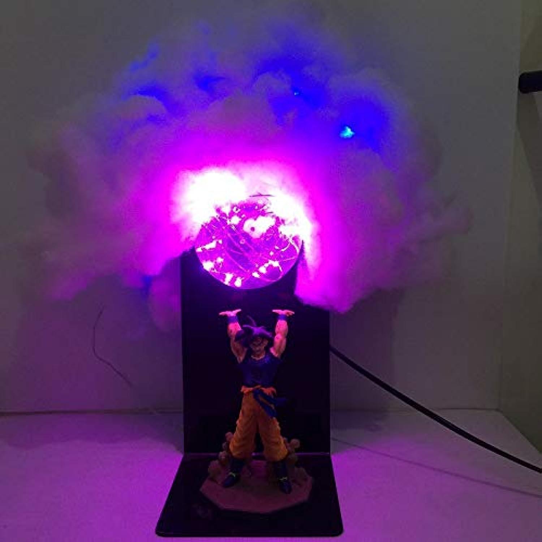 Anime Dragon Ball Sun Wukong Hand Kreative Tischlampe