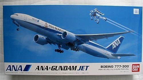 1 200 Boeing777-300 & RX-78 Gundam ANA Exclusive