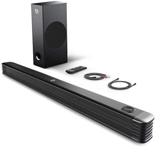 Bomaker Sound Bar, 150W Soundbar with Wireless...