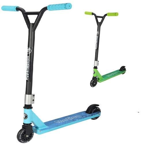 HyperMotion EVO Stunt Scooter City Einstellbares Lenkrad für Anfänger und Fortgeschrittene (BLAU)