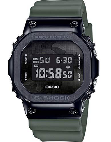 G-Shock by Casio Men's Digital GM5600B-3 Watch Black/Green