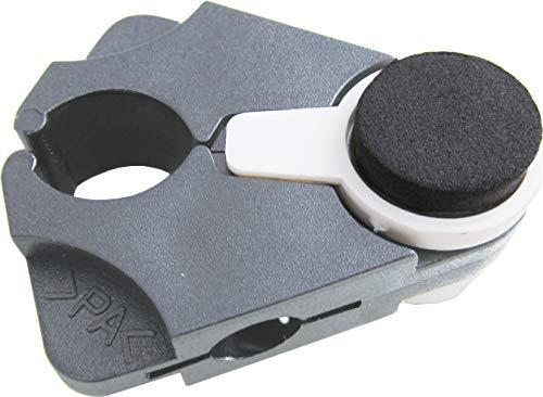 Stockhalter Gehstockhalter für Tisch - für alle Gehstöcke, grau