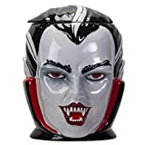 Pacific Giftware Halloween Vampire Dracula Bust Ceramic Cookie Jar