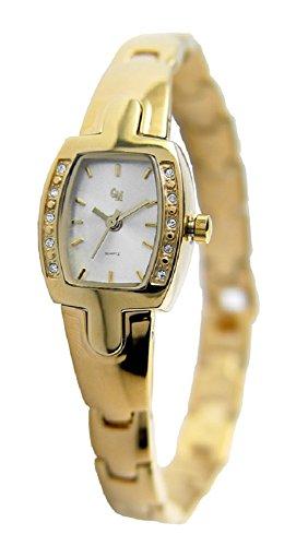 OSCO Steel Edelstahl Damen-Armbanduhr 4351 (Gold/Silber)