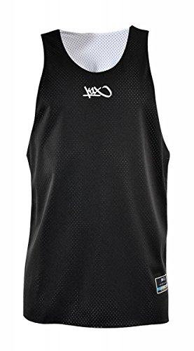 K1X Hardwood rev Practice Jersey mk2 schwarz/weiß