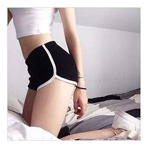 Noctiflorous - Leggings deportivos de malla para mujer, pantalones de cintura alta, pantalones de deporte sólidos para gimnasio, push up, pantalones de yoga, tallas S-XL (color, tamaño: M)