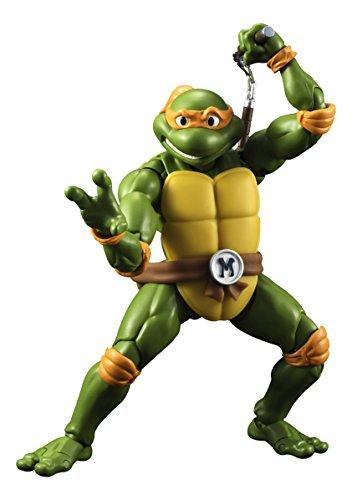Bandai TMNT Turtles Figurina d'Azione Tartarughe Ninja: Michelangelo, Multicolore, 9508