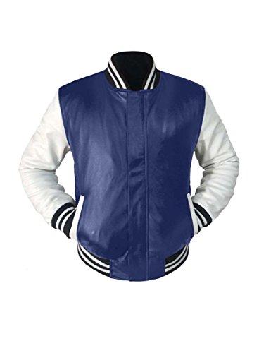 Original American Varsity Letterman College Baseball Genuine Leather Jackets #WSL_WSTR_BBand