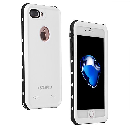Nexgadget iPhone 7 Plus Waterproof Case, CONQUEROR Series Drop-proof Dirtproof Snow-proof Protective...