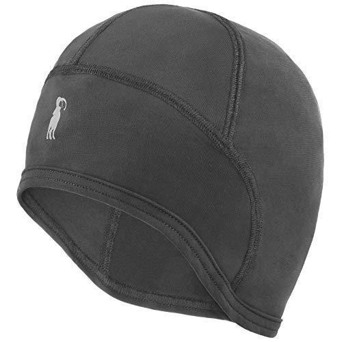 ALPIDEX Sottocasco Moto Bici Invernale Skull cap Antivento Corsa Uomo Donna, Colore: Grey