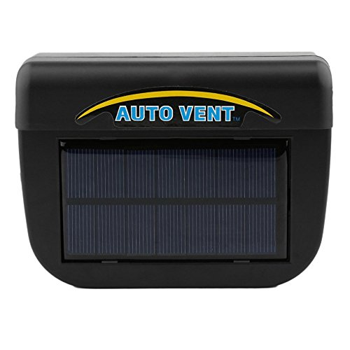 iPstyle Solar Powered Car Window Windshield Auto Air Vent Cooling Cool Fan Auto Ventilator Cooler System (Auto Vent)