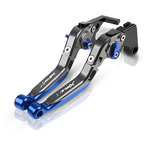 ZCLY para Y-amaha X-MAX X MAX 125/200/250/400 Todos Los Años Motocicleta CNC Scooter Palanca De Embrague De Freno Extensible Plegable Ajustable Freno (Color : 13)
